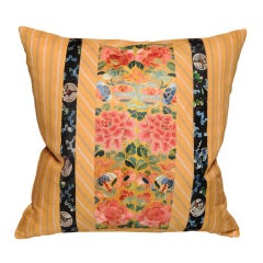Early 19th Century Forbidden Stitch Pillow