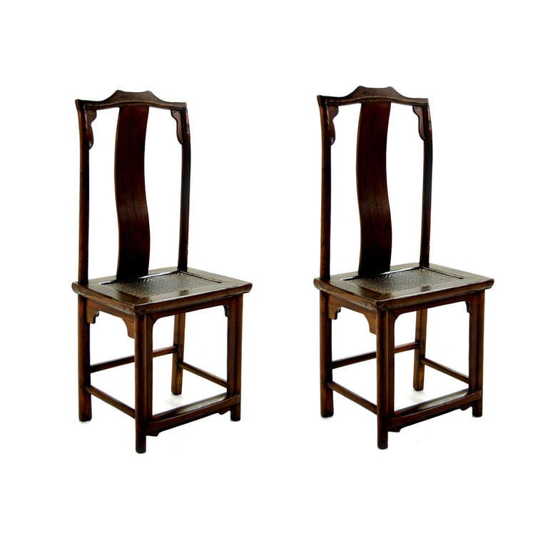 Pair of Early 20th Century Chinese Chair -SATURDAY SALE-