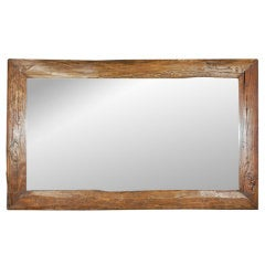 Reclaimed Elmwood Mirror