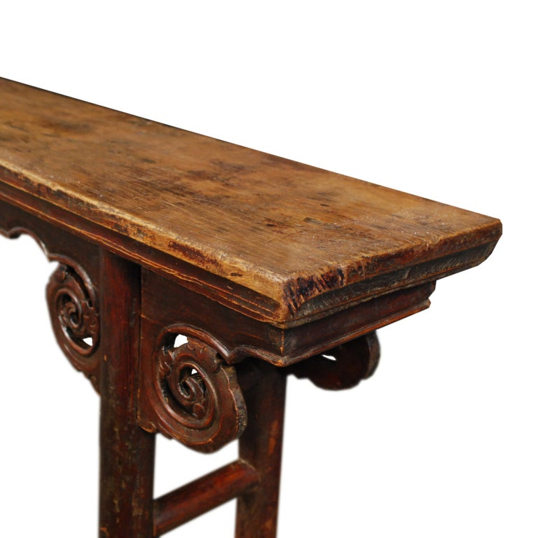 19th century chinese two person bench at 1stdibs for Table fifty two 52 w elm st chicago il 60610