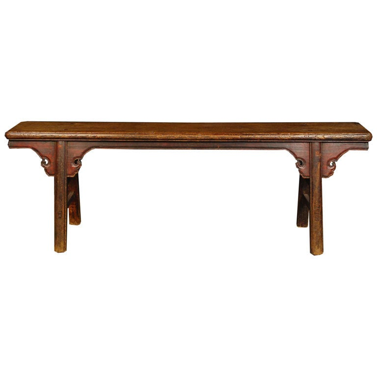 19th Century Provincial Chinese Bench At 1stdibs