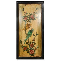 Early 20th Century Chinese Painted Panel
