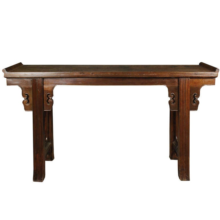 19th century chinese rosewood altar table for sale at 1stdibs for Oriental furniture for sale