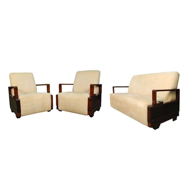 Chinese Deco Sofa Suite