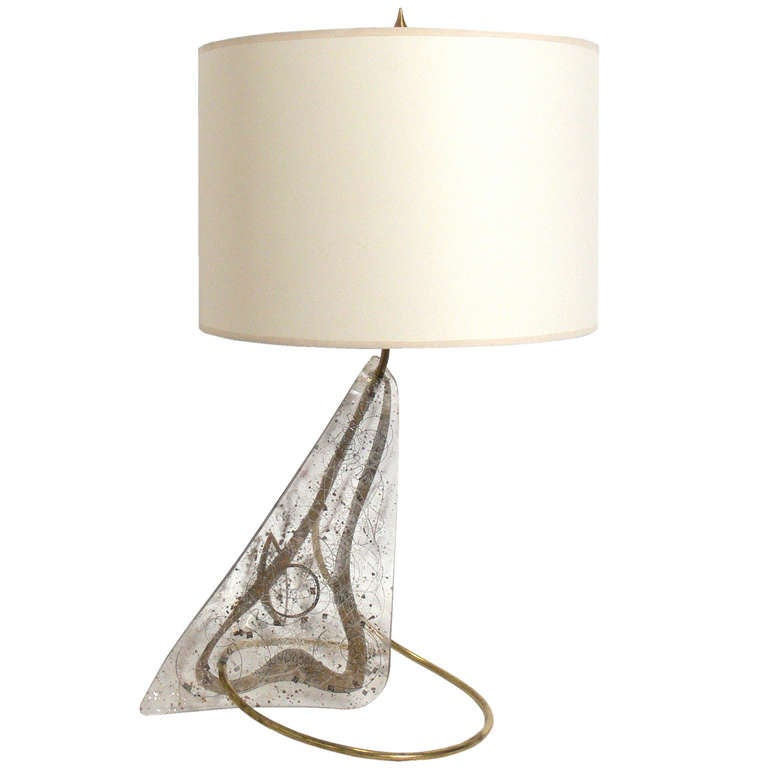 Unique Sculptural Lamp by Zahara Schatz