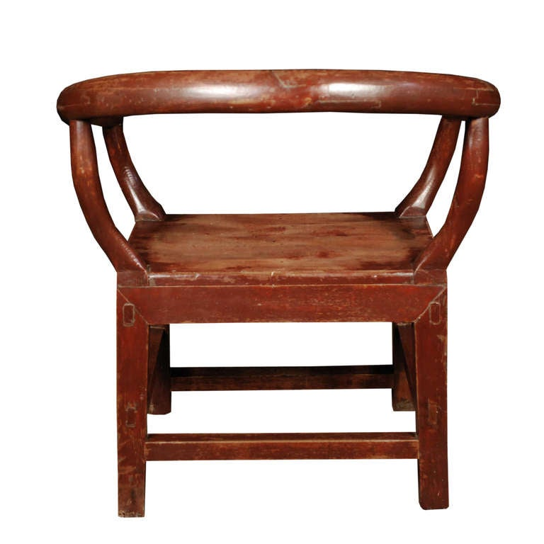 19th century chinese meditation chair at 1stdibs for Chinese art furniture