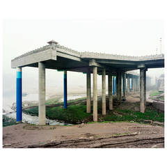 """""""Unfinished Elevated Highway Photograph, Ciqikou, Shapingba District, Chongqing"""""""
