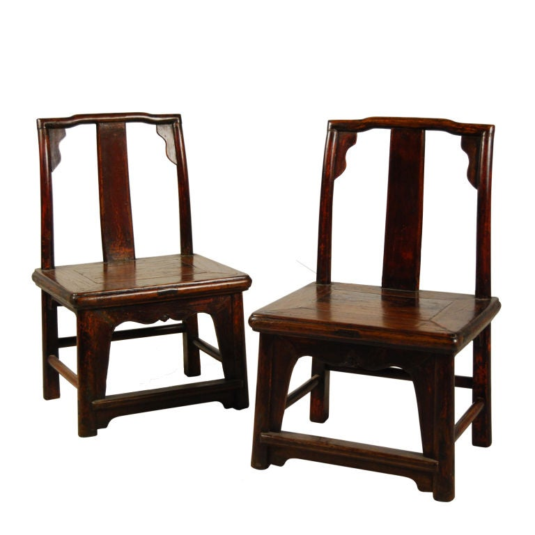 Pair Of Children S Chairs At 1stdibs
