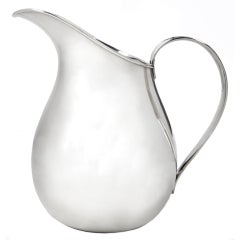 Allan Adler Sterling Silver Pitcher