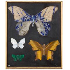 """Montici Pietra Dura """"Butterflies"""" Art by Richard Blow"""