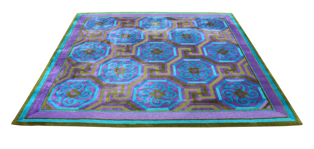 Lush V Soske Mid Century Carpet At 1stdibs