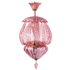 Murano Italian Glass Chandelier
