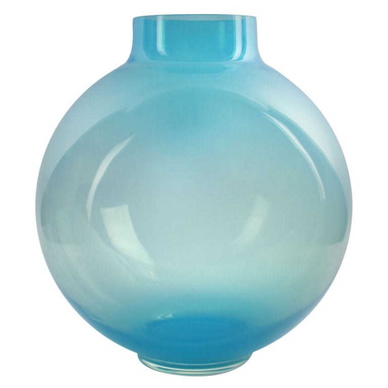 Monumental Murano Glass Vase