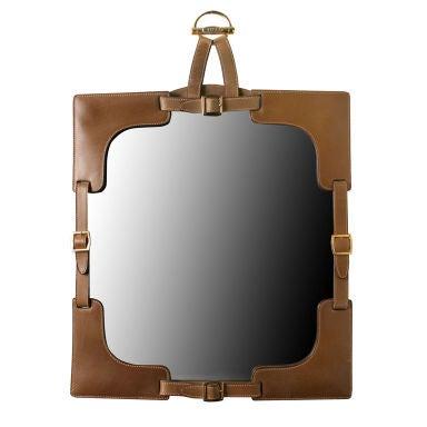 Gucci Leather Mirror