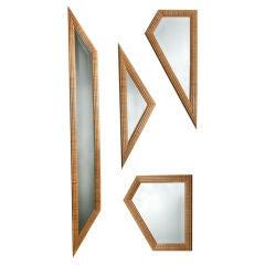 Custom Mirror Installation by John Makepeace