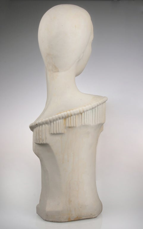 Beautiful Art Deco Sculptural Mannequin At 1stdibs