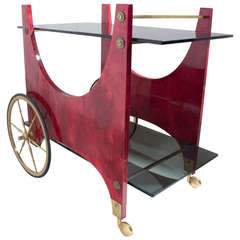 Aldo Tura Bar Cart, Trolley
