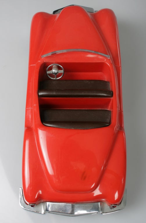 Vintage Chicago Steer-O-Matic Toy Car image 5