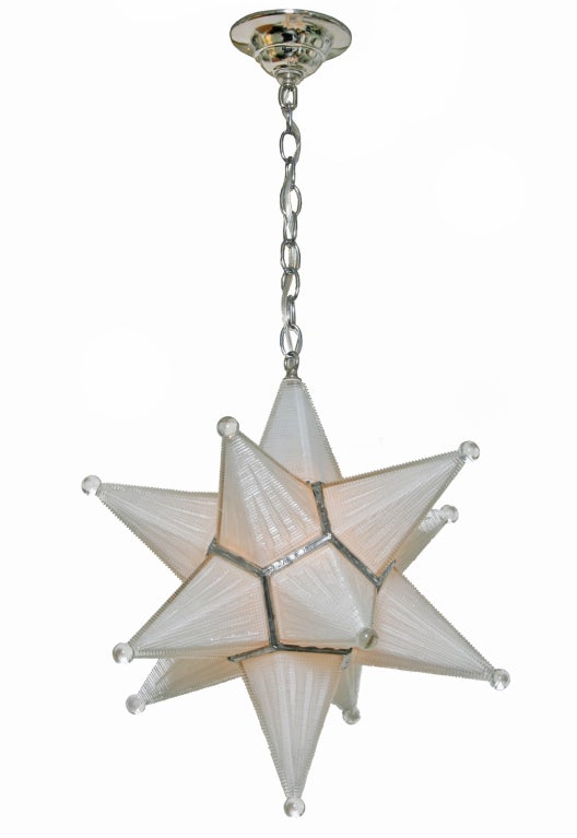 this vintage moravian star glass fixture is no longer available. Black Bedroom Furniture Sets. Home Design Ideas