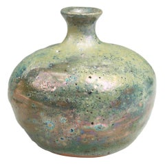 Beatrice Wood Ceramic Luster Vase