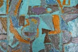Cubist Abstract Oil Painting by Rudy O. Pozzatti image 2