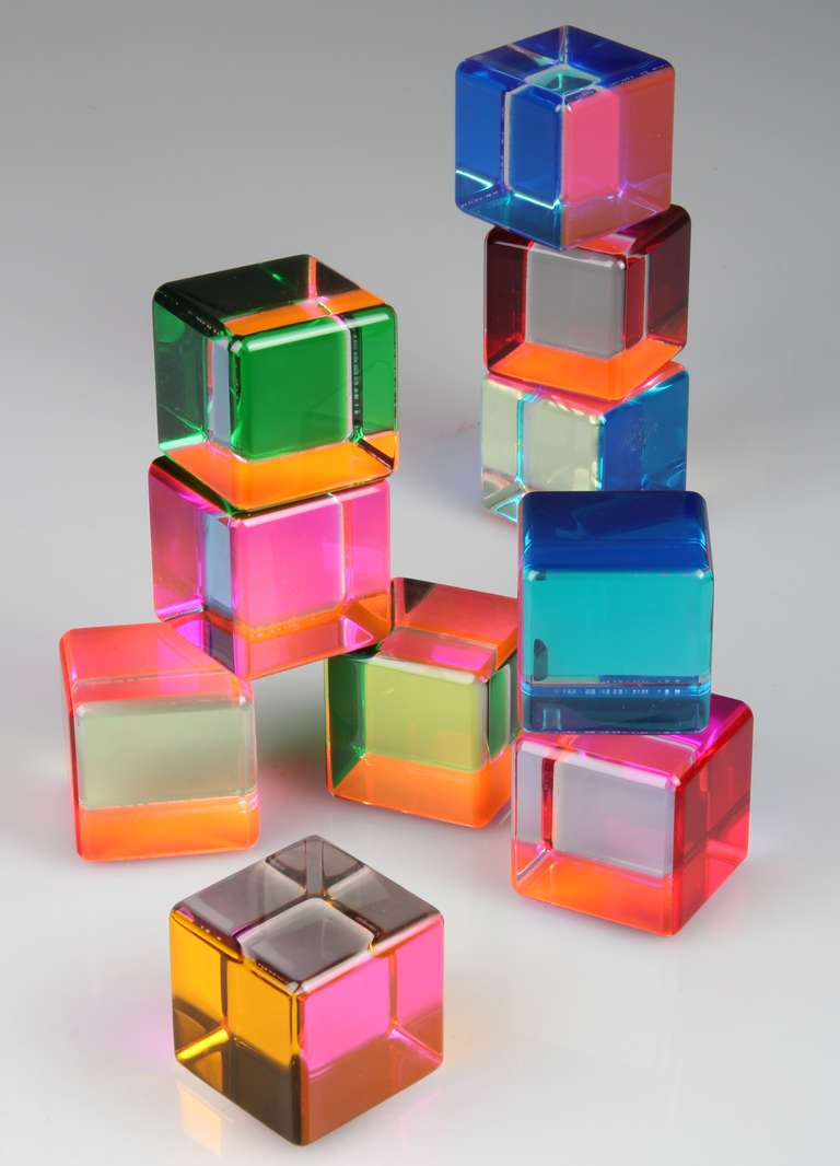 Vasa Acrylic Block Sculpture At 1stdibs