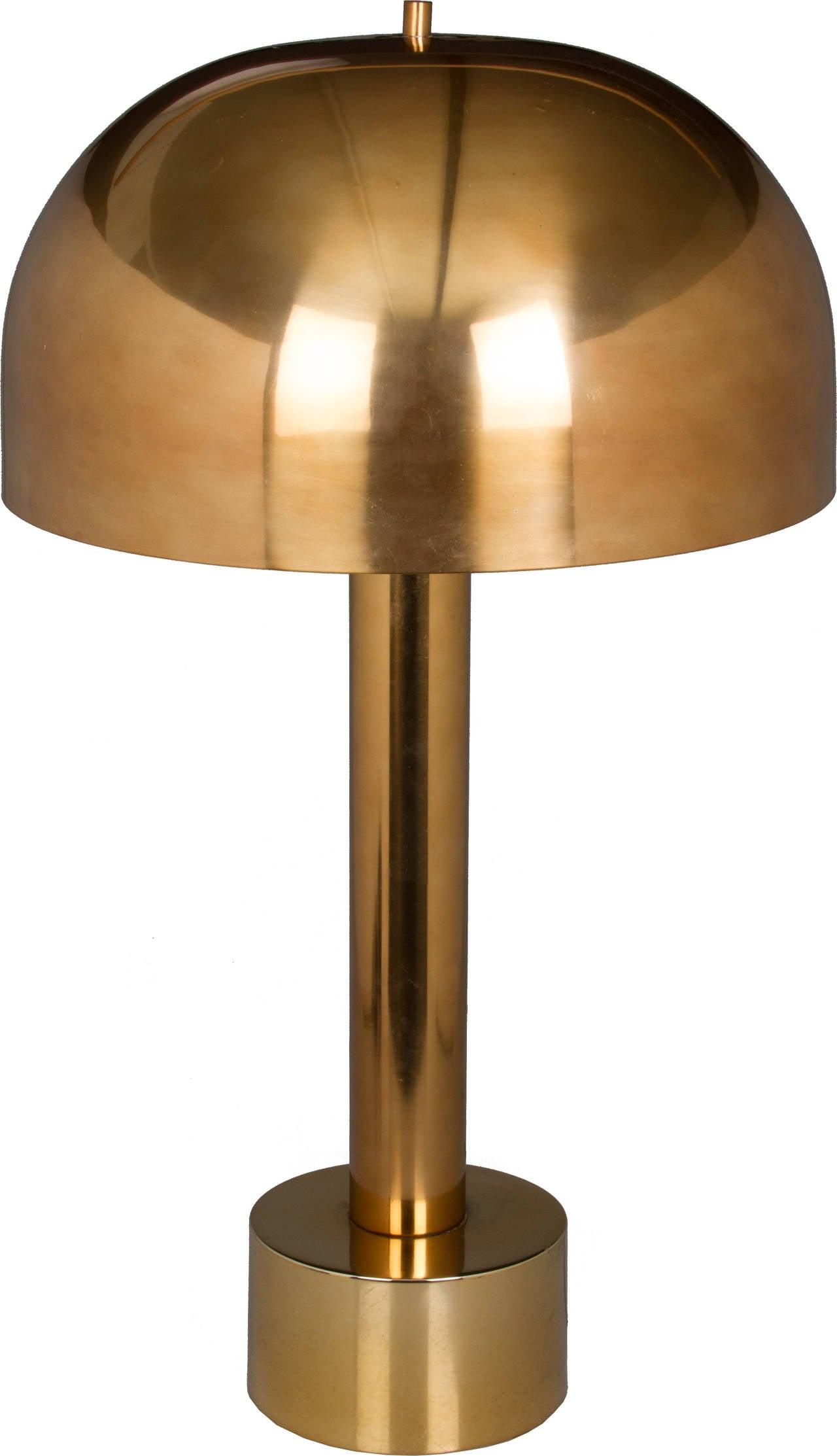 Mid Century Laurel Mushroom Table Lamp At 1stdibs