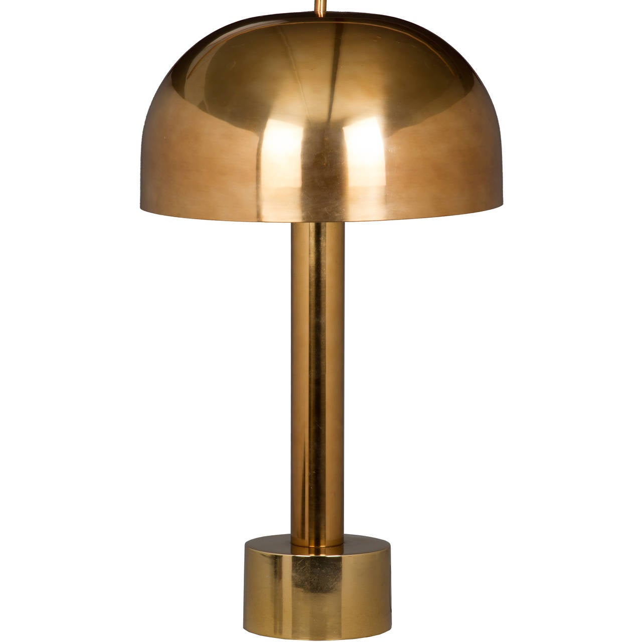 Mid Century Laurel Mushroom Table Lamp At 1stdibs