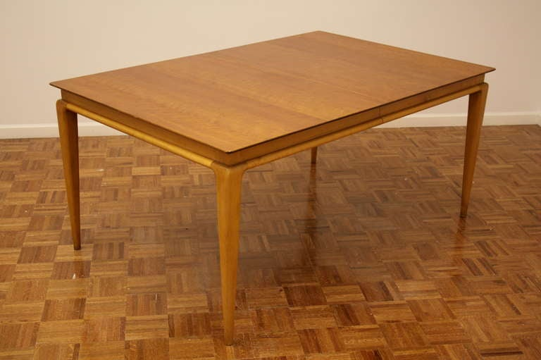 American Renzo Rutili Dining Table for Johnson Furniture For Sale