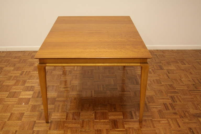 Renzo Rutili Dining Table for Johnson Furniture In Good Condition For Sale In St. Louis, MO