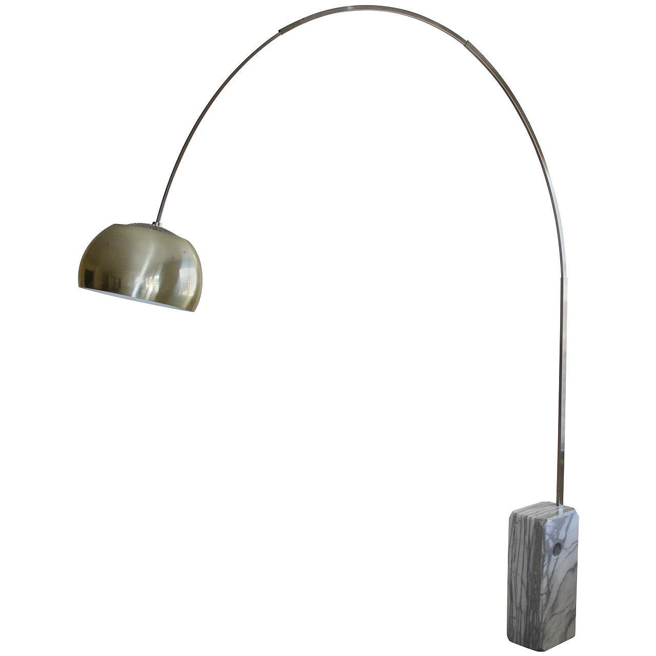 Vintage Arco Floor Lamp Designed By Achille Castiglioni In