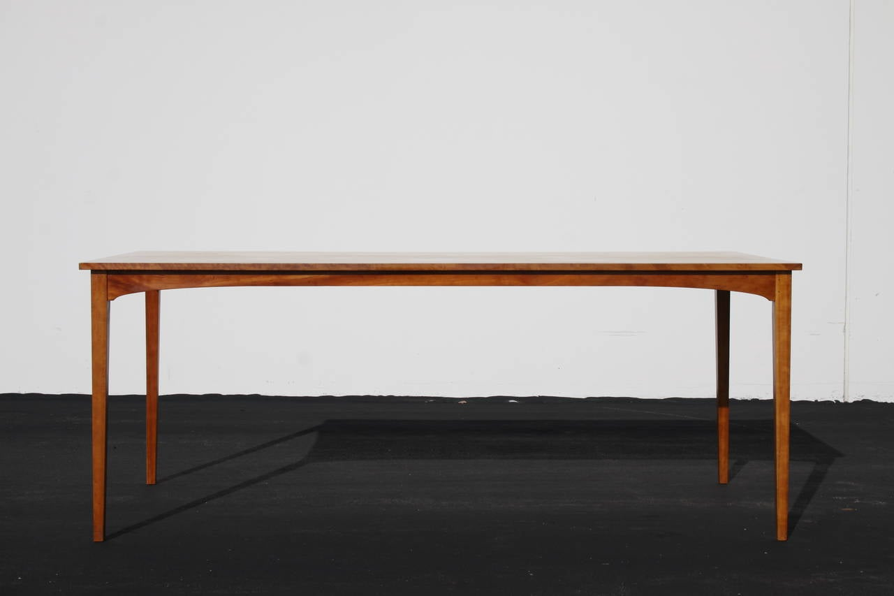 Thos Moser Dining Or Conference Table Built By Rachel R Levesque At 1stdibs