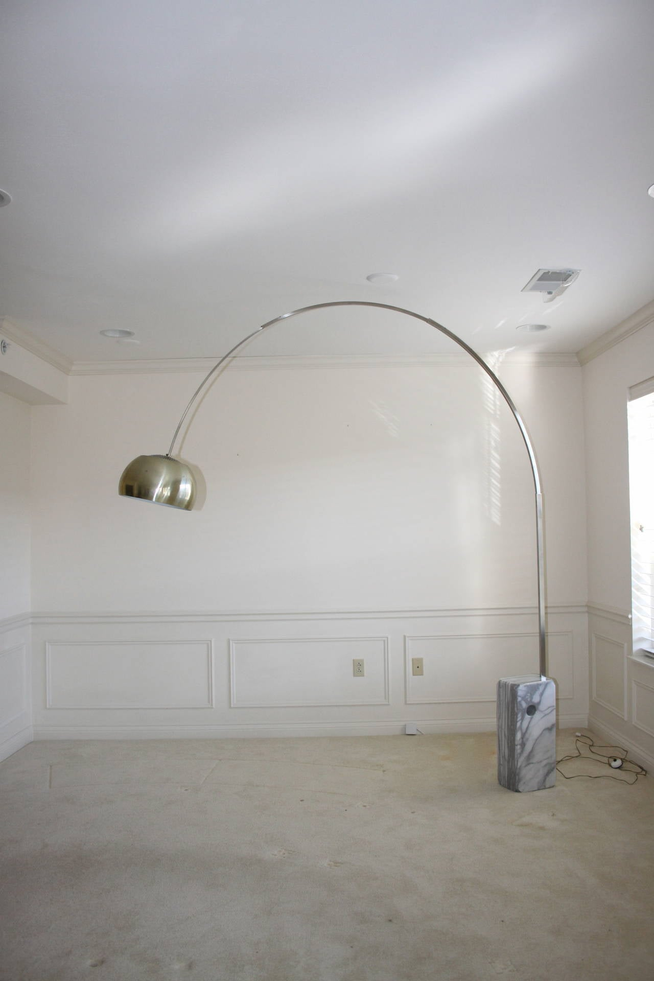 Vintage Arco Floor Lamp Designed By Achille Castiglioni In