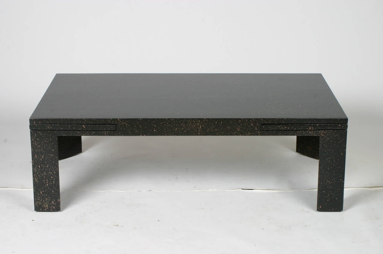 Edward Wormley For Dunbar Expandable Cocktail Table For Sale At 1stdibs