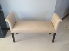1940s Bench with Scroll Arms