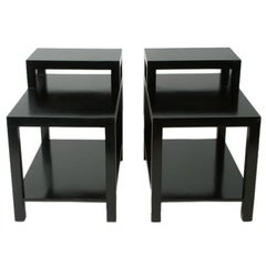Pair of T. H. Robsjohn-Gibbings for Widdicomb End Tables