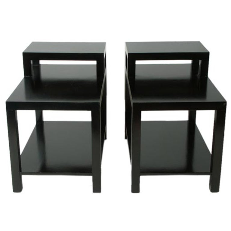 Pair of T. H. Robsjohn-Gibbings for Widdicomb End Tables For Sale