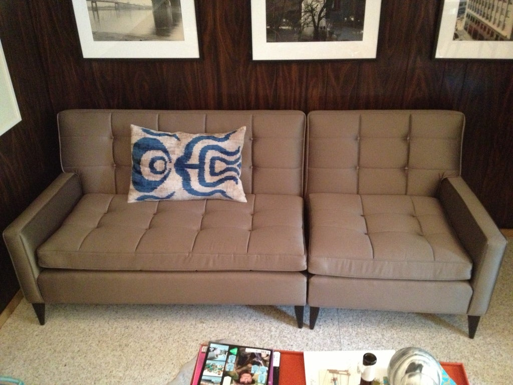 Paul Mccobb Sectional Sofa For Custom Craft For Sale At