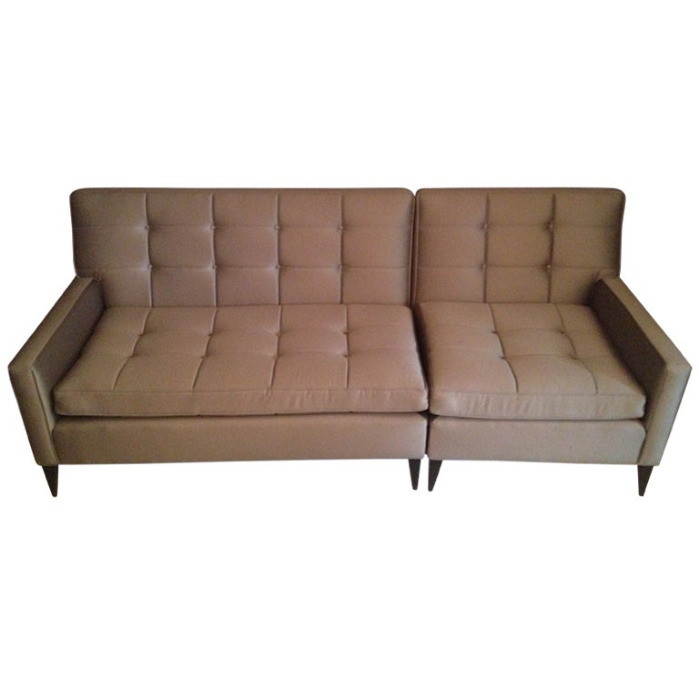 Paul Mccobb Sectional Sofa For Custom Craft At 1stdibs