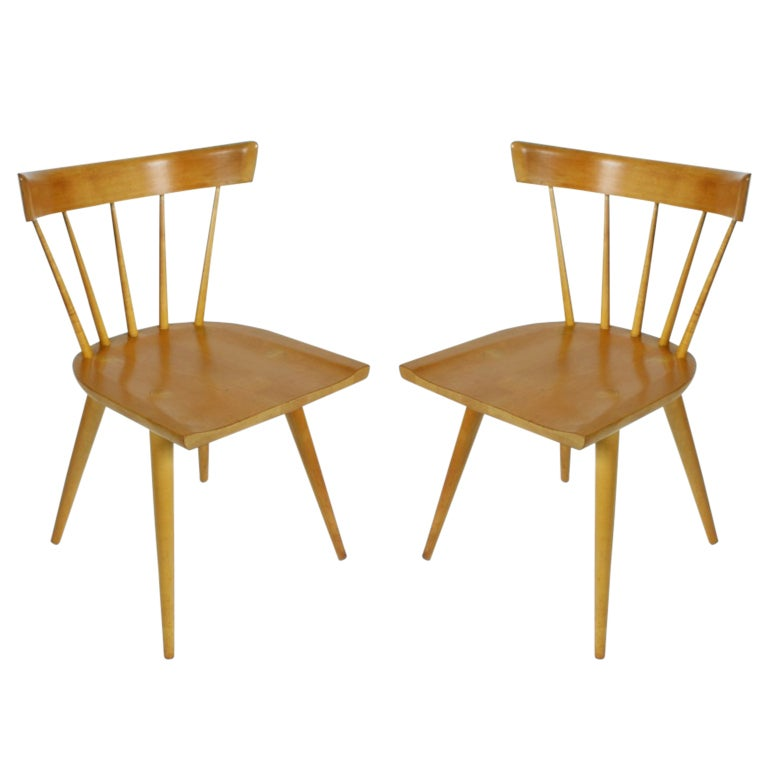 Pair of Paul McCobb Planner Group Chairs at 1stdibs