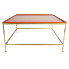 Midcentury Coffee Table With Lacquered Top