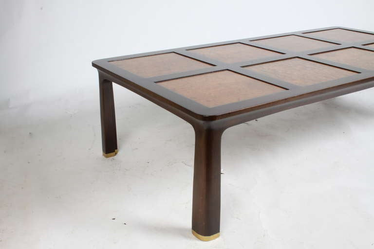 American Edward Wormley for Dunbar Cocktail Table For Sale