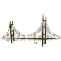 Curtis Jere Bridge wall sculpture