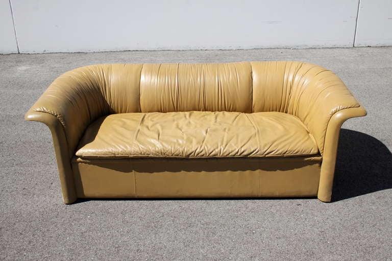 Dunbar Leather Sofa by Dennis Christiansen, circa 1970s 2