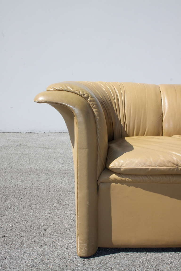 Dunbar Leather Sofa by Dennis Christiansen, circa 1970s 7