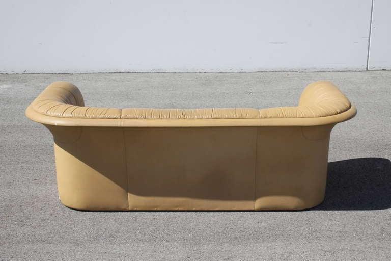 Dunbar Leather Sofa by Dennis Christiansen, circa 1970s 3