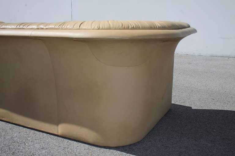Dunbar Leather Sofa by Dennis Christiansen, circa 1970s 9