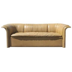 Dunbar Leather Sofa by Dennis Christiansen, circa 1970s