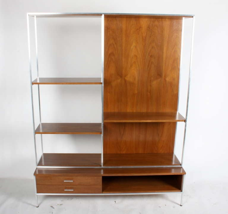 Paul mccobb room divider storage unit at 1stdibs - Room divider with storage ...