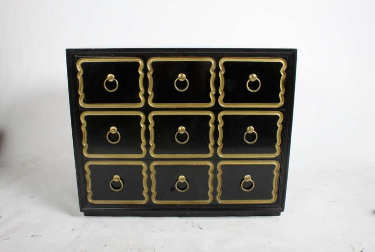 American Dorothy Draper Espana chest for Hertiage For Sale